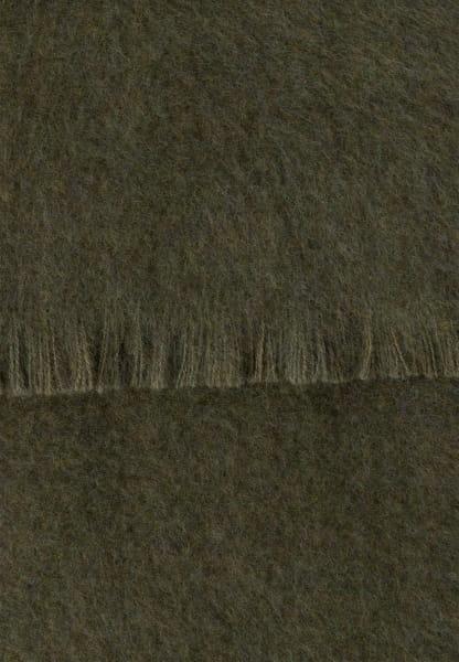 Schal aus flauschiger Wolle