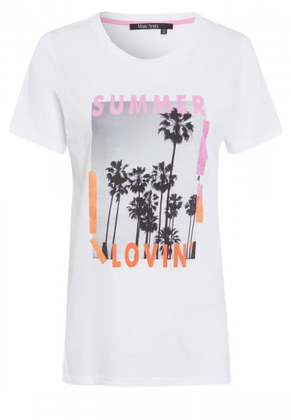 T-shirt with summer print