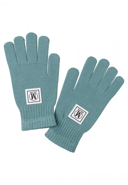 Gloves made of elastic fine knit
