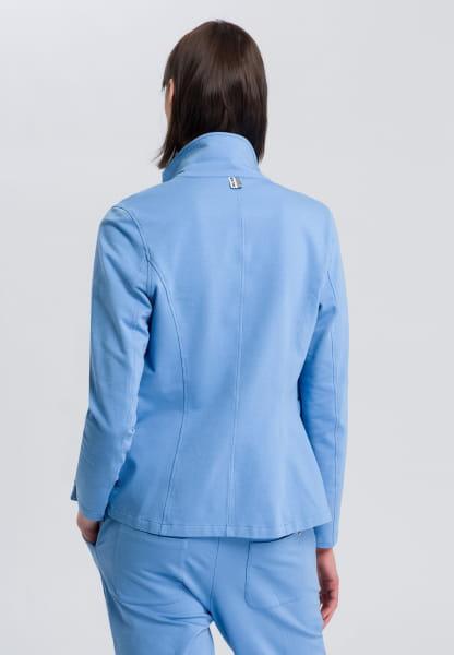 Jersey Blazer with button closure