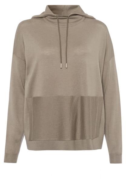 Jumper in hoodie style