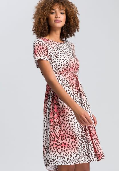 Dress in leopard print style