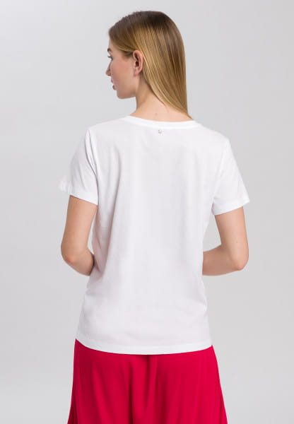T-shirt with large front print