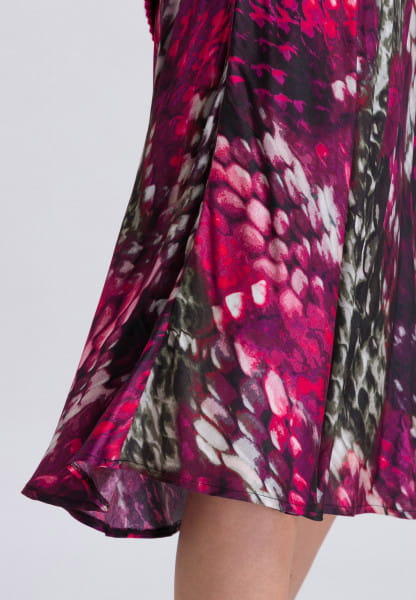 Skirt with dreamy print