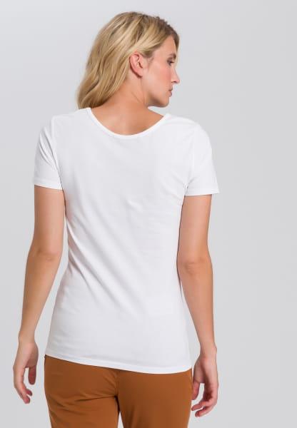 T-shirt mit Frontprint