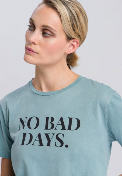 Shirt mit Message-Print
