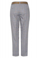Pants in glencheck allover pattern