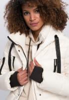 Outdoor jacket with decorative zips
