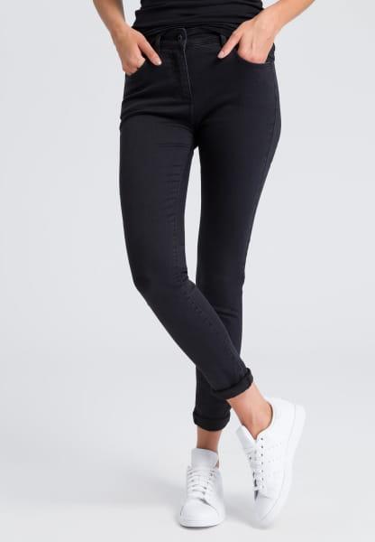 Jeanshose im Black-Denim Look