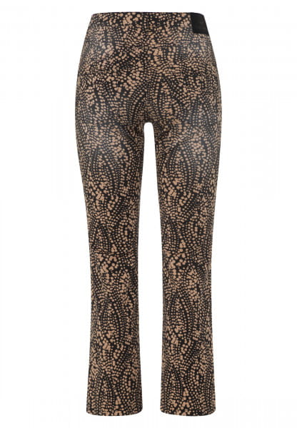Pants with slightly flared leg