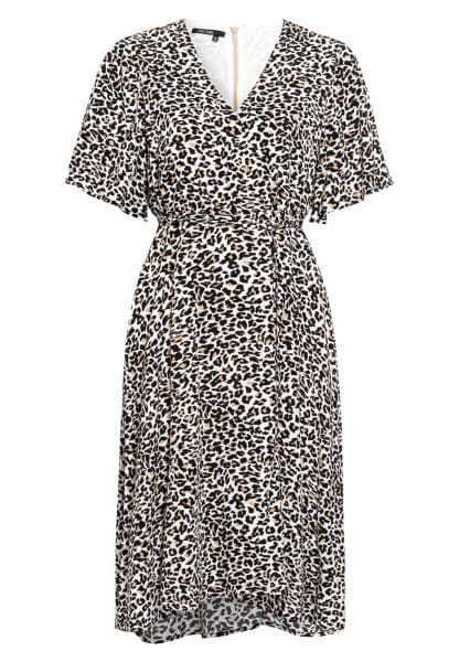 Kleid im Leoparden-Dessin