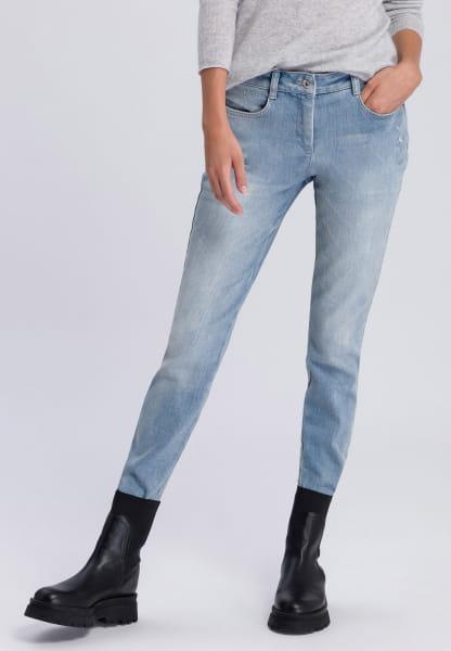 Jeans aus recyceltem Material