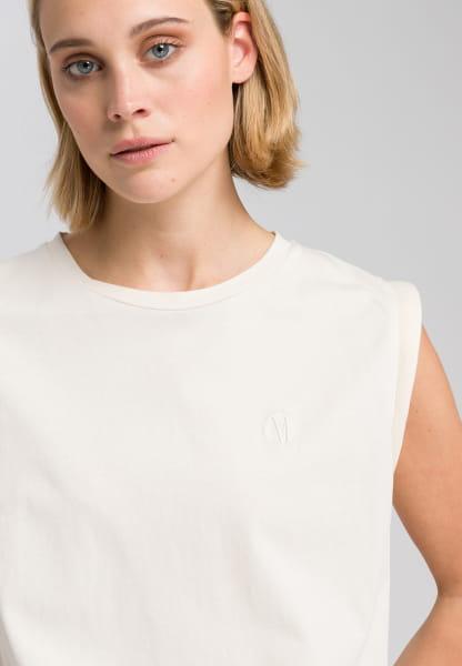 Shirt with eighties sleeves