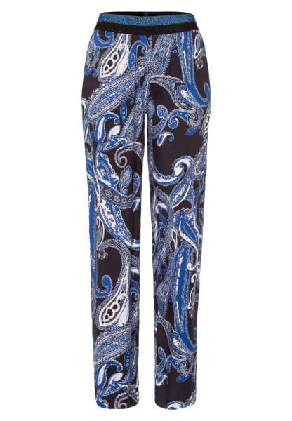 Pants with Paisley print