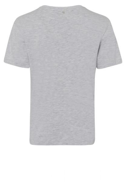 T-shirt with large slogan print