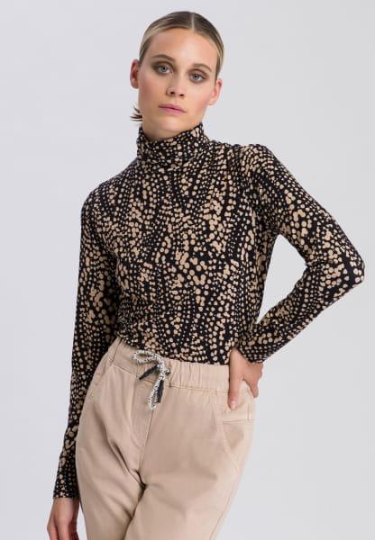 Shirt mit Minimal-Print