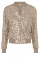 Jacket from sequin jersey