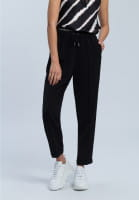 Jogging pants made from ctease-free material
