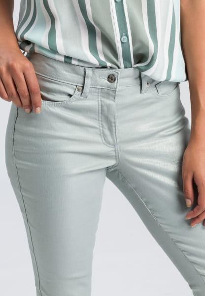 5-pocket in metallic look