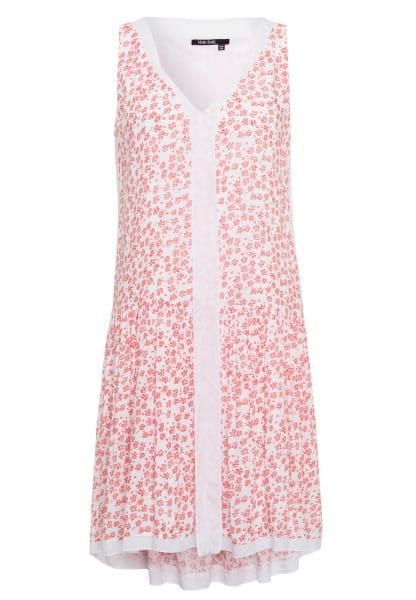 Tunic dress in scattered flower design