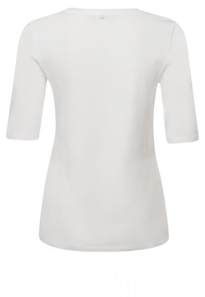 T-shirt mit Collagenprint