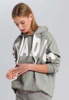 Sweatshirt with text printing