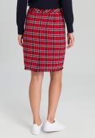Skirt In tweed diamonds