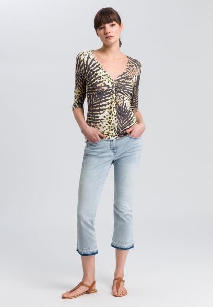 Shirt mit Tropical-Print