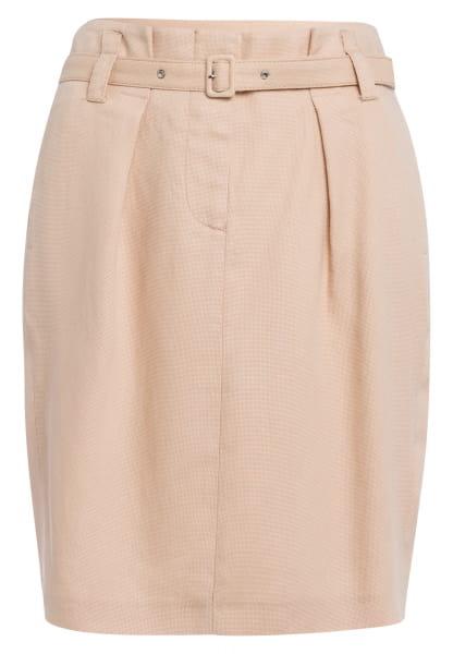 Mini skirt in Strukturoptik
