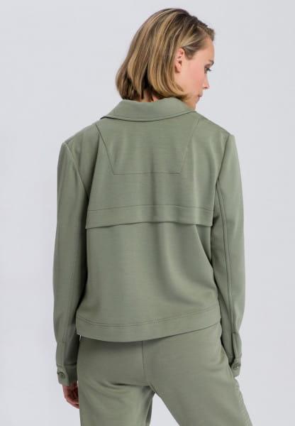 Jacke aus Scubajersey