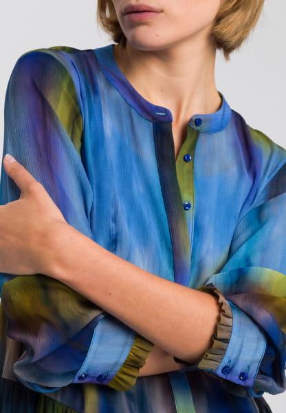 Dress with batik pattern