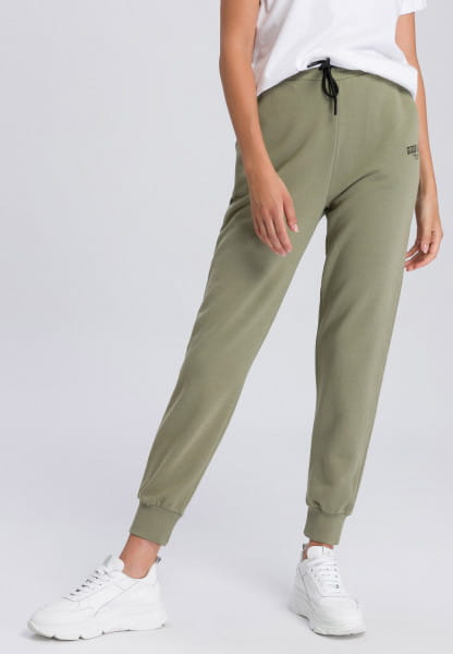Lounge pants with small slogan detail
