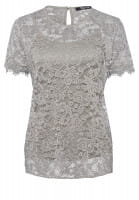 Shirt made from fine lace