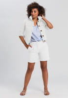 Short Jacket with horn buttons