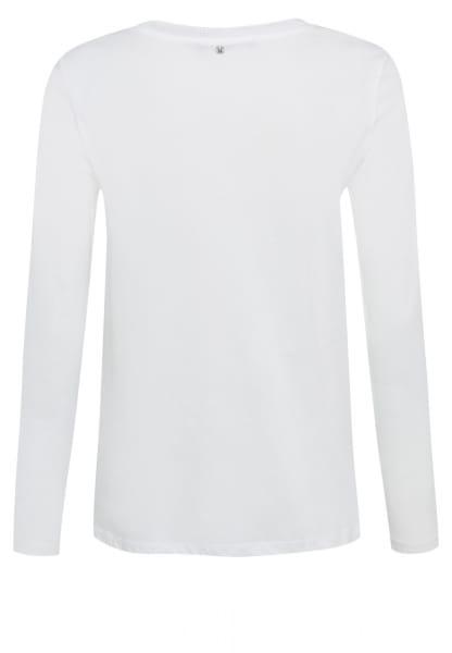 Langarmshirt mit Patchwork-Print