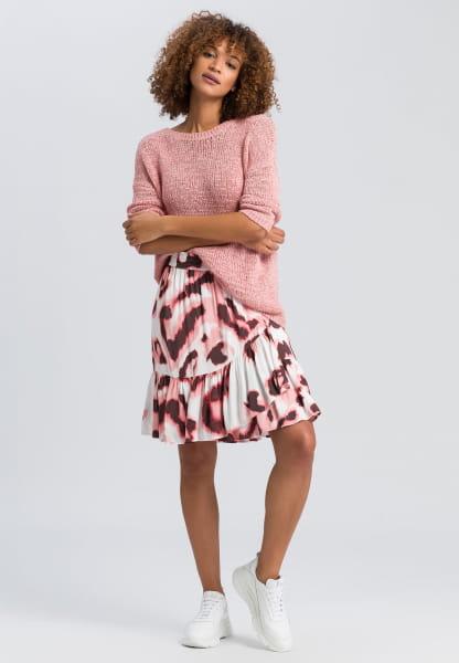 Pullover aus Lurexbändchen
