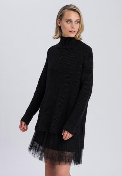 Pullover aus Halbpatent