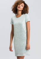 Dress from sequin jersey