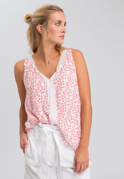 Tunic in scattered flower design