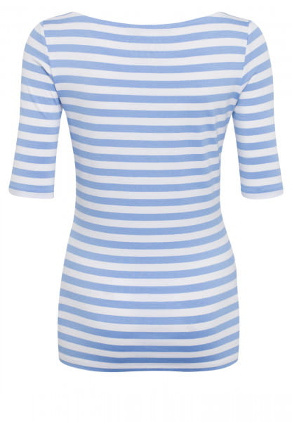 Shirt with stripe print