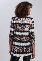 Blouse with leo-batik pattern