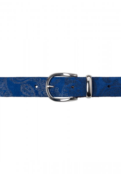 Belt with Paisley pattern