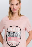 T-shirt with sequin detail