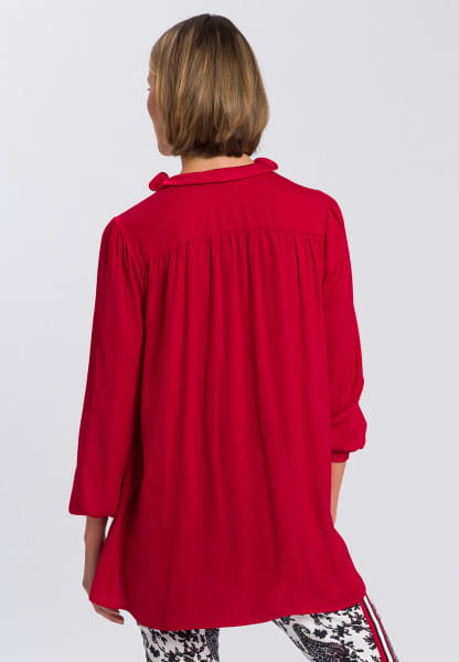 Blouse in japanese satin style