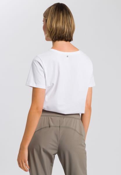 T-Shirt mit Foto-Frontprint