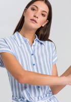 Hemdbluse im Streifenlook