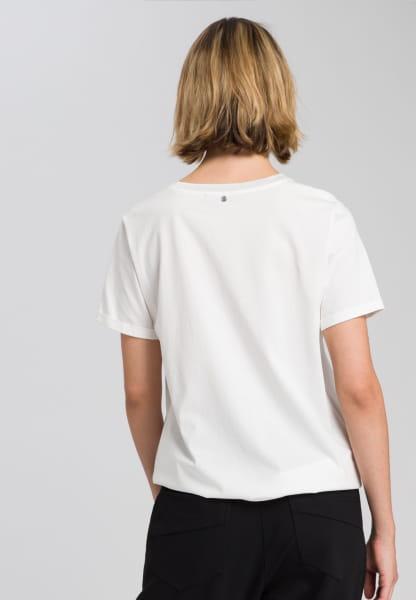 T-Shirt mit Leo-Mottoprint
