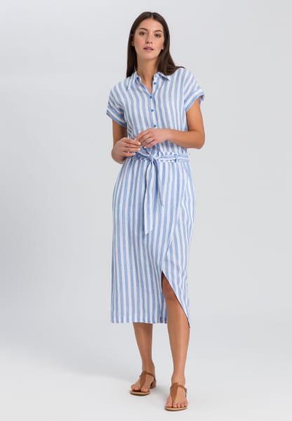 Linen Skirt in striped look