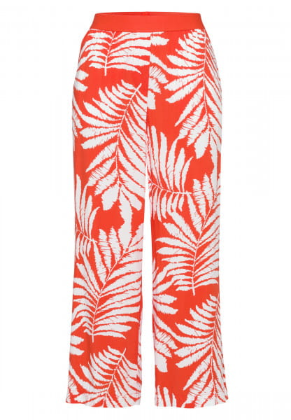 Pyjama bottoms in leaf design