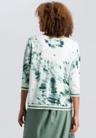 Sweaters in tie-dye print